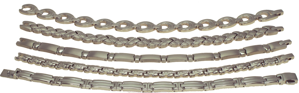 Titanium Germanium Bracelet with resistant resistant coating